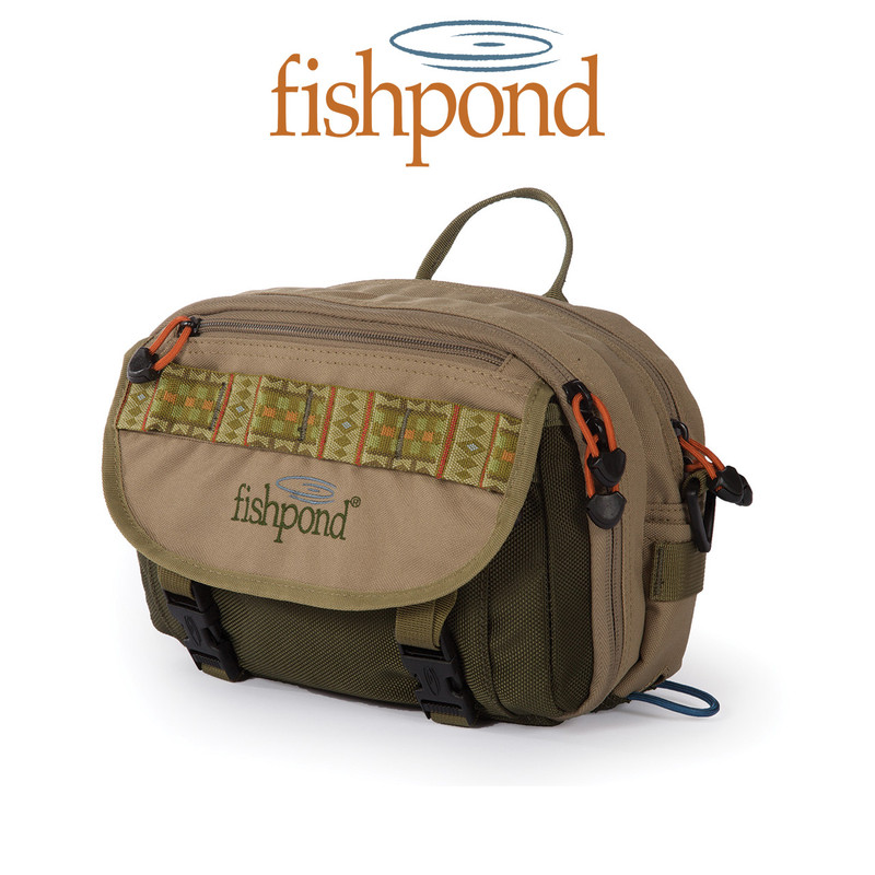 Fishpond Blue River Chest Pack Front View