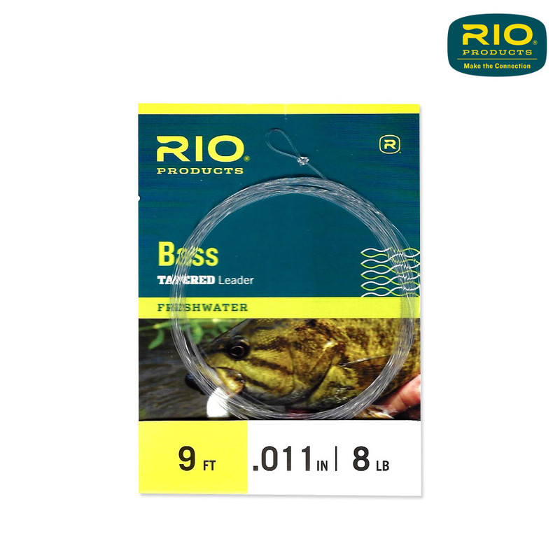 Rio Bass Tapered Leader 1-Pack