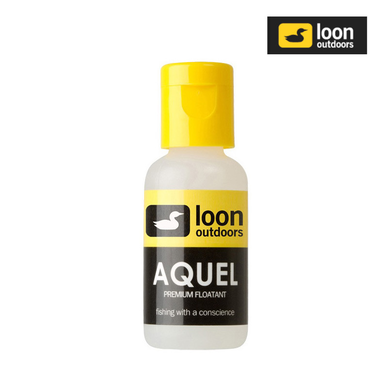 Bottle of Loon Aquel Dry Fly Floatant