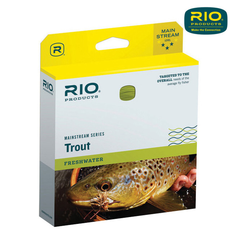 Rio Mainstream Trout Weight Forward Fly Line Shown In The Box