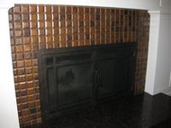 Art in Tiles - Metal Mosaic Tile