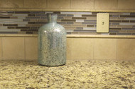 Glass kitchen backsplash tile options
