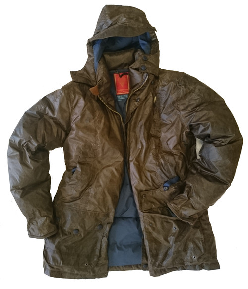 Kelsher 'Vintaged' Luxury Pure Goose Down Jacket - Waterproof