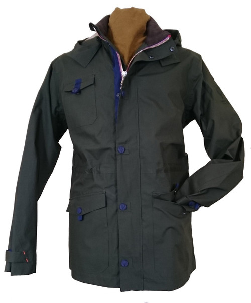 Southey - 100% Cotton 100% Waterproof Men's Jacket