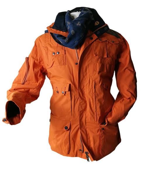The Sir Arnold: Luxury Mountain and Ski Jacket