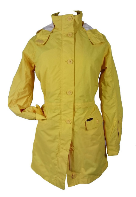 Women's Luxury Pure Cotton Waterproof Rainmac
