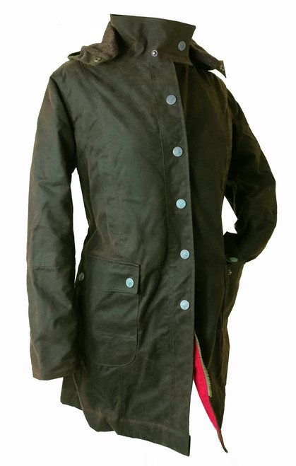 Titania Women's 3/4 Wax Coat - Salesman's Sample