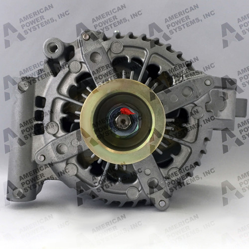 High output alternator • 255-amp, 12-volt output • 255HPI-38090-TLCG-TD8-52S9