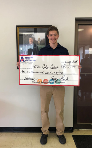 Announcement | Cole Caleo receives inaugural scholarship award