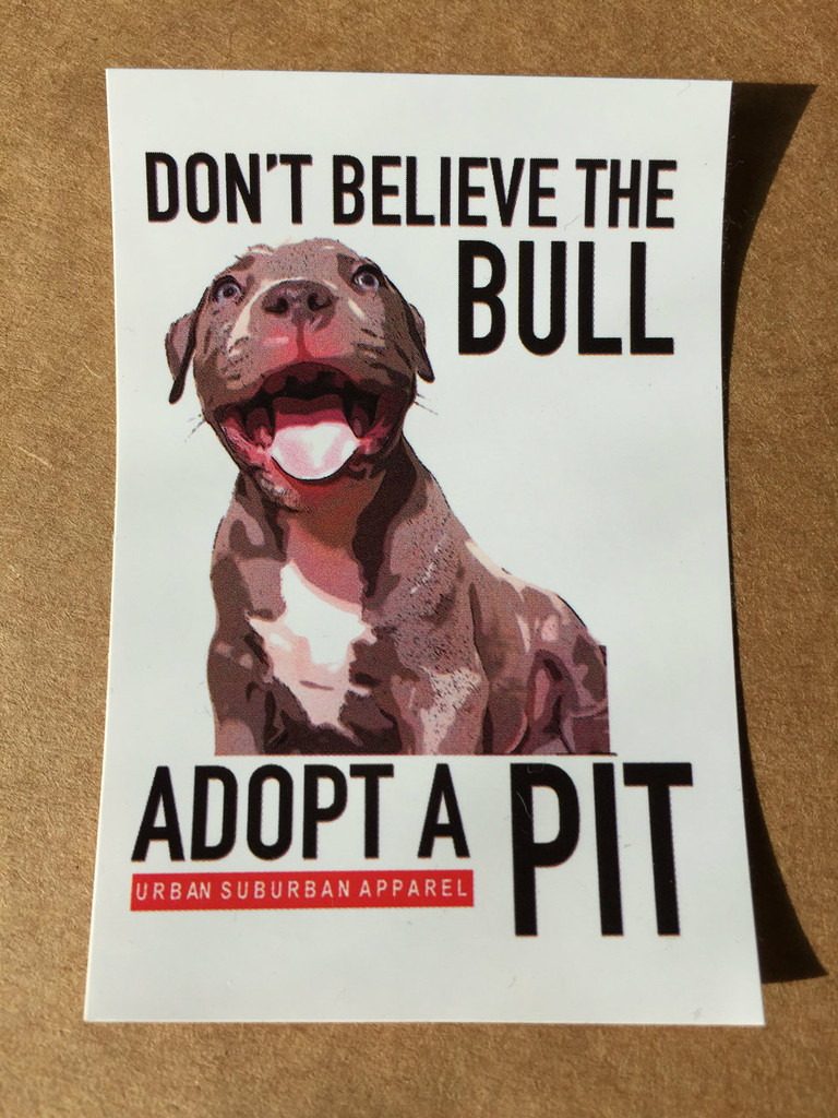 ADOPT A PIT Stickers