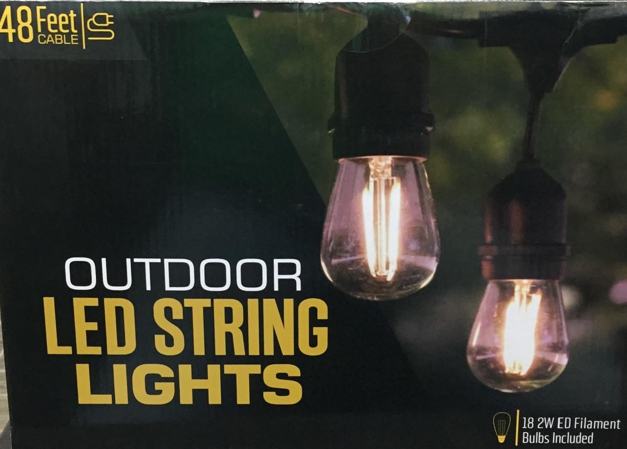 heavy duty indoor outdoor led string light ies distributors
