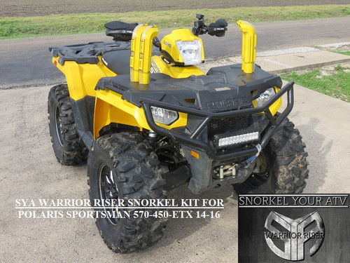 SYA WARRIOR RISER SNORKEL KIT FOR POLARIS SPORTSMAN 570 ...