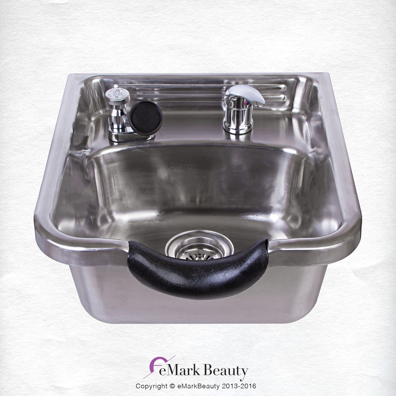 A Stainless Steel Shampoo Bowl Brushed TLC 1167
