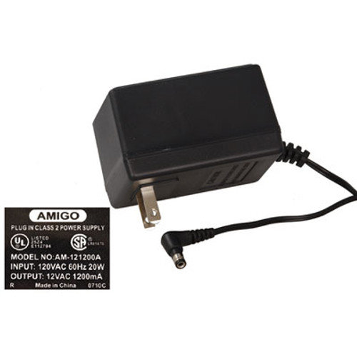 12VAC, 1200mA AC-to-AC Wall Adapter Power Supply
