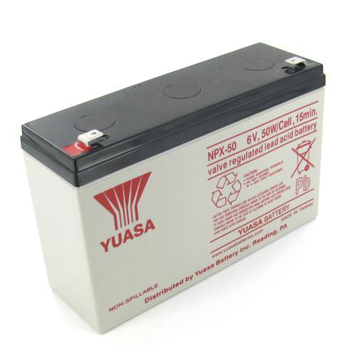 Yuasa Npx 50 Sealed Lead Acid Battery With F2 Terminal