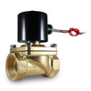 "1-1/2"" 12V DC Electric Brass Solenoid Valve"