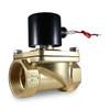 "2"" 12V DC Electric Brass Solenoid Valve"