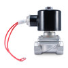 "1/2"" 24V DC Stainless Electric Solenoid Valve"