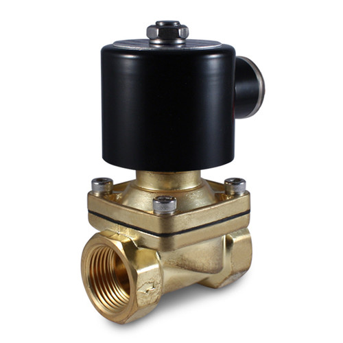 "3/4"" 24V AC Electric Brass Solenoid Valve"