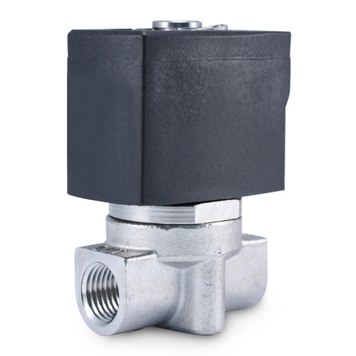 "1/4"" 110V AC Stainless Electric Solenoid Valve"