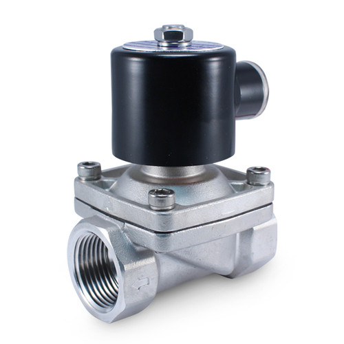 1 Inch 24v Ac Normally Closed Stainless Steel Solenoid