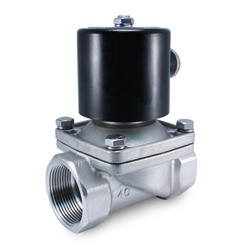 1 1 2 Quot Inch 12 Volt Dc Stainless Steel Solenoid Valve For
