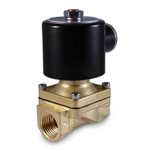 3/8'' 12V DC Electric Brass Solenoid Valve