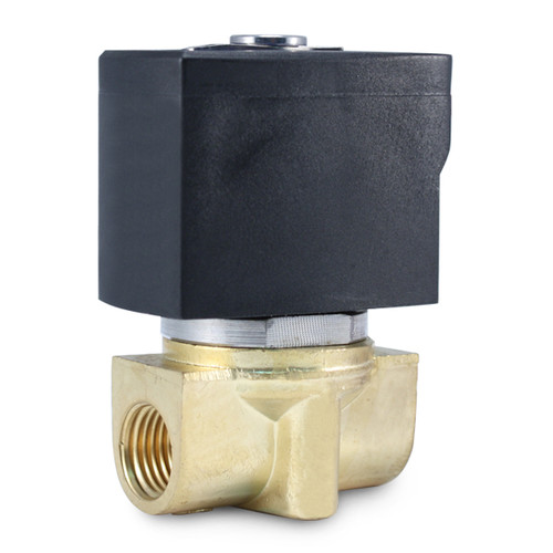 "1/4"" 12V DC Electric Brass Solenoid Valve"