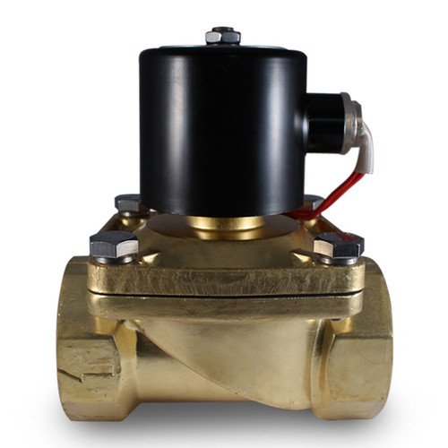2 Inch 110v Ac Electric Brass Solenoid Valve 110 Volts