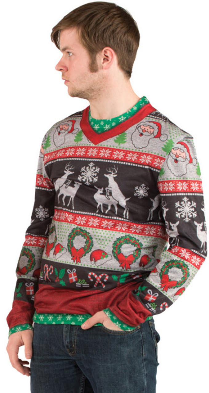 adult ugly christmas sweater fr115908 - Adult Ugly Christmas Sweater