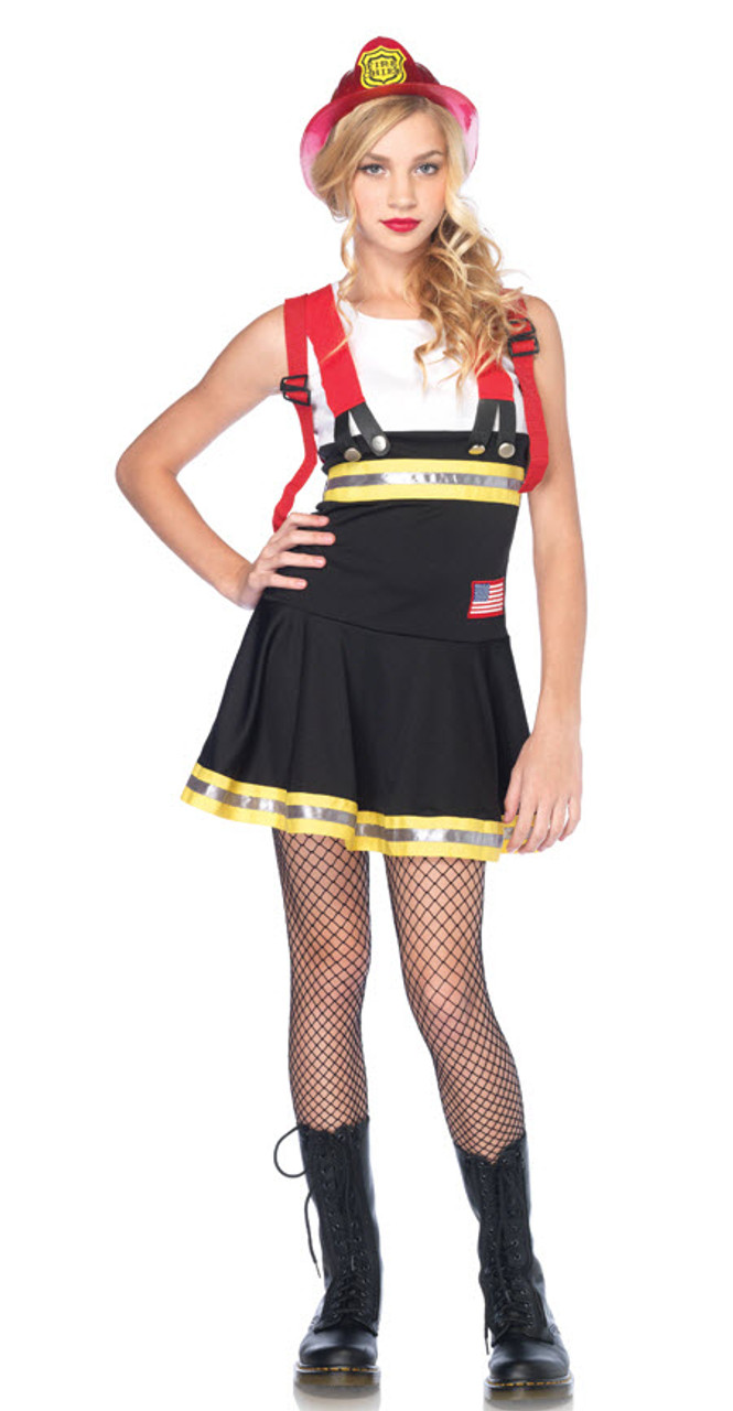 Teen Firefighter Costume - Halloween Express-4036