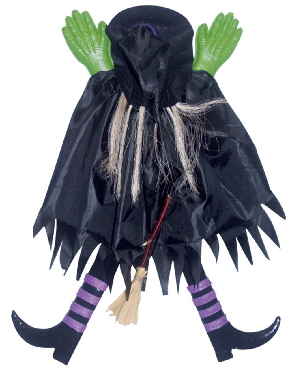 Crashed Witch Decoration - Halloween Express