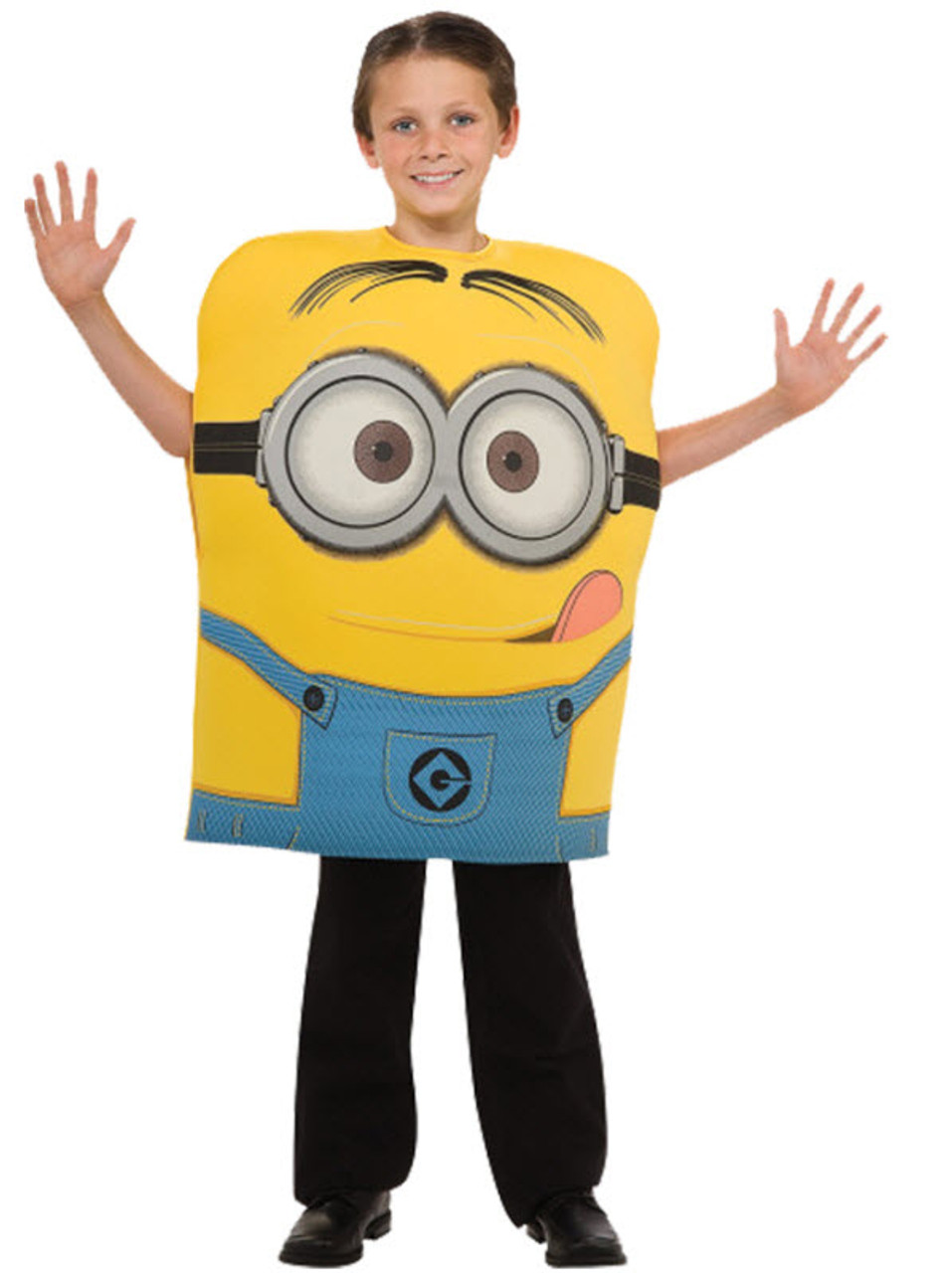 Boyu0027s Minion Costume  sc 1 st  Halloween Express & Boyu0027s Minion Costume - Halloween Express