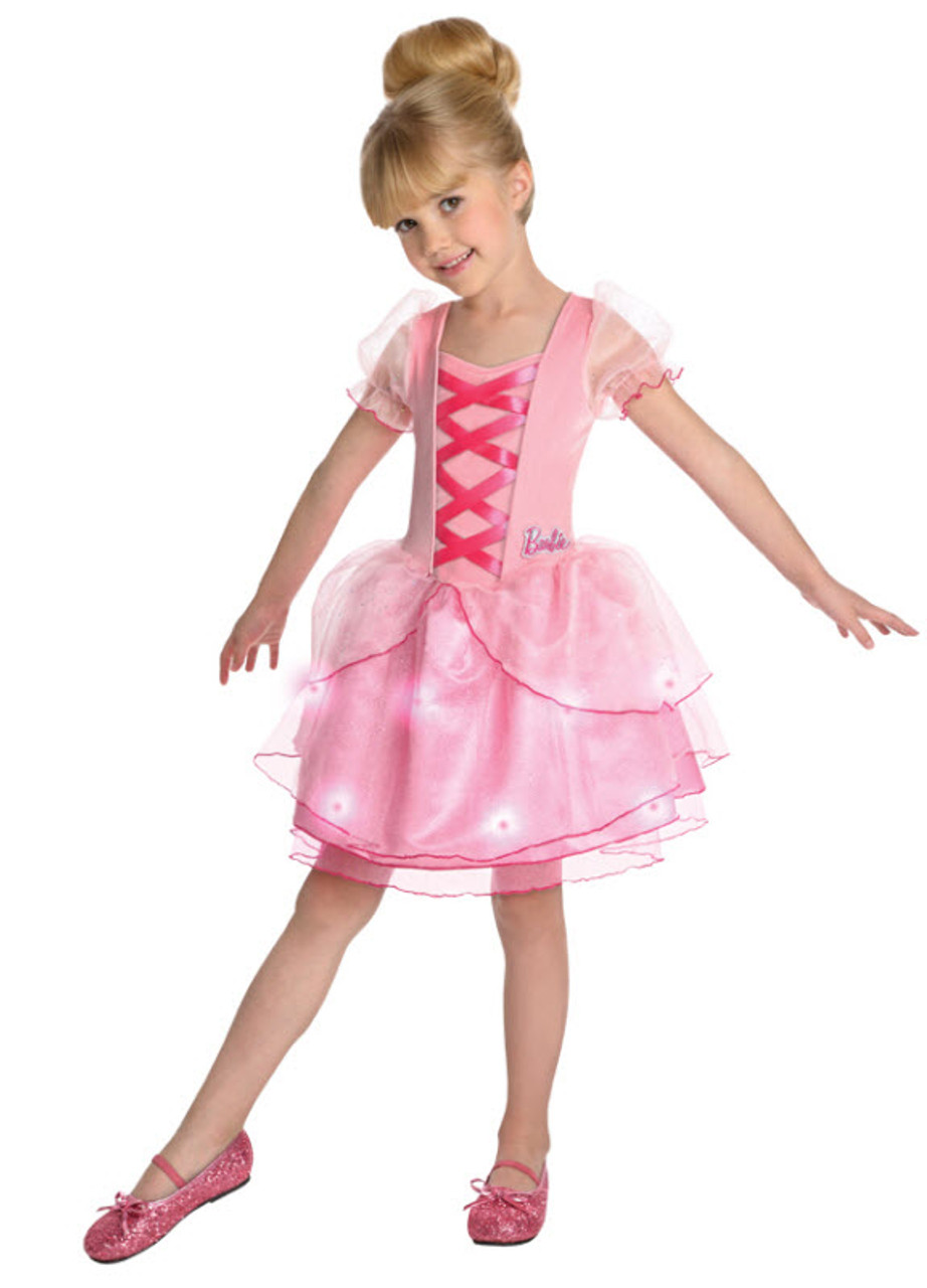Girlu0027s Barbie Ballerina Costume  sc 1 st  Halloween Express & Girlu0027s Barbie Ballerina Costume - Halloween Express