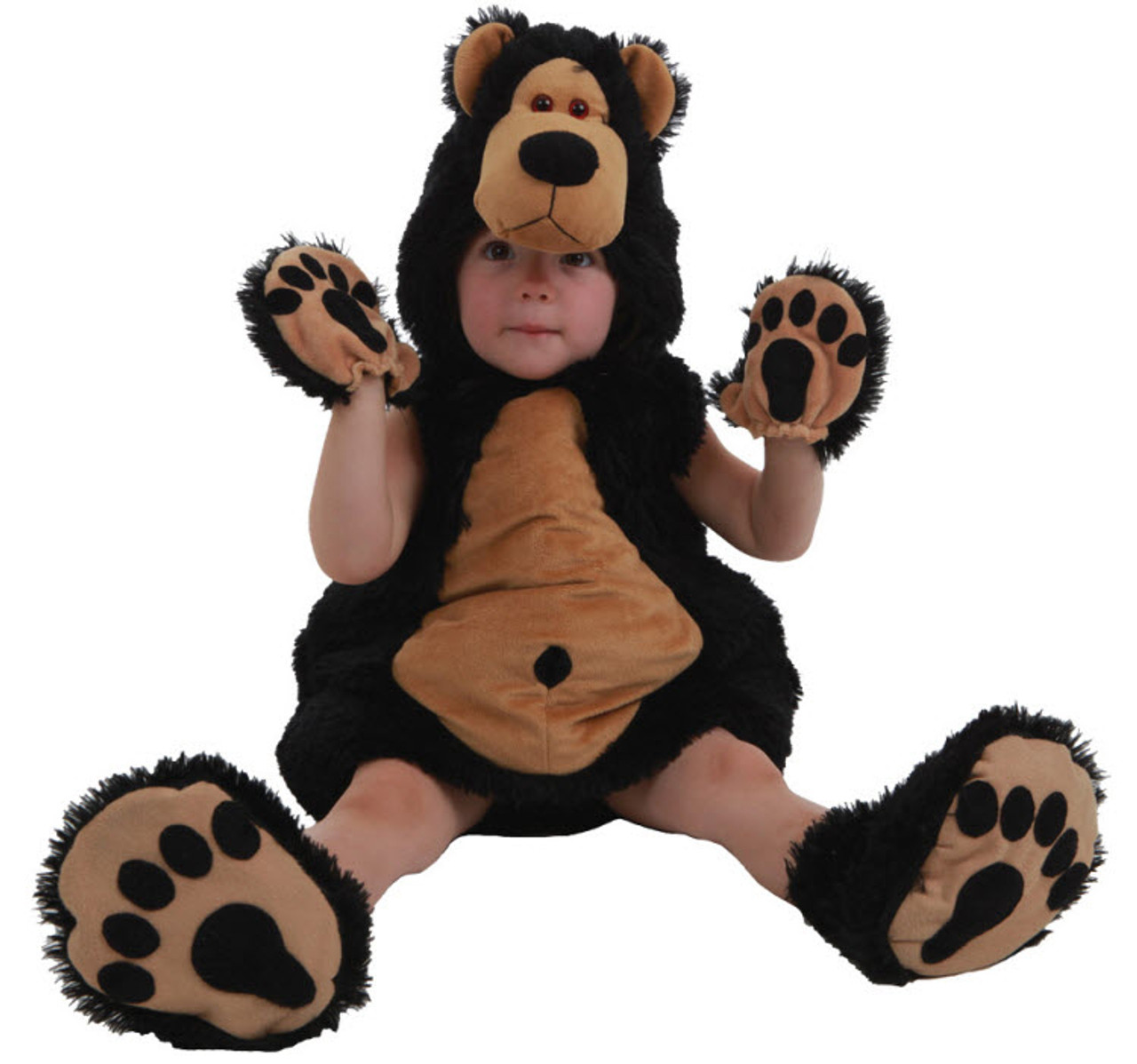 Toddler Bruce The Bear Costume  sc 1 st  Halloween Express : toddler bear costume - Germanpascual.Com