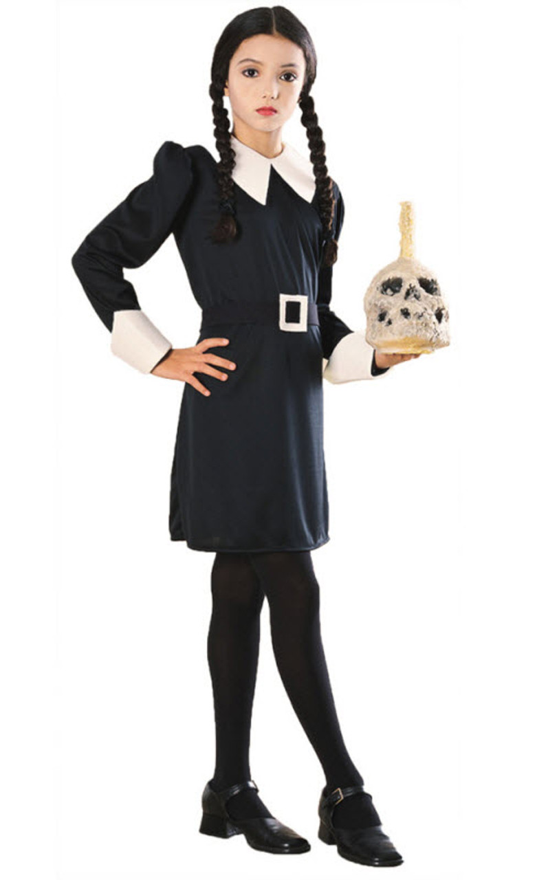 Girlu0027s Addams Family Wednesday Costume  sc 1 st  Halloween Express & Girlu0027s Addams Family Wednesday Costume - Halloween Express