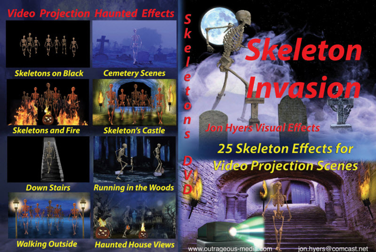 skeleton invasions dvd