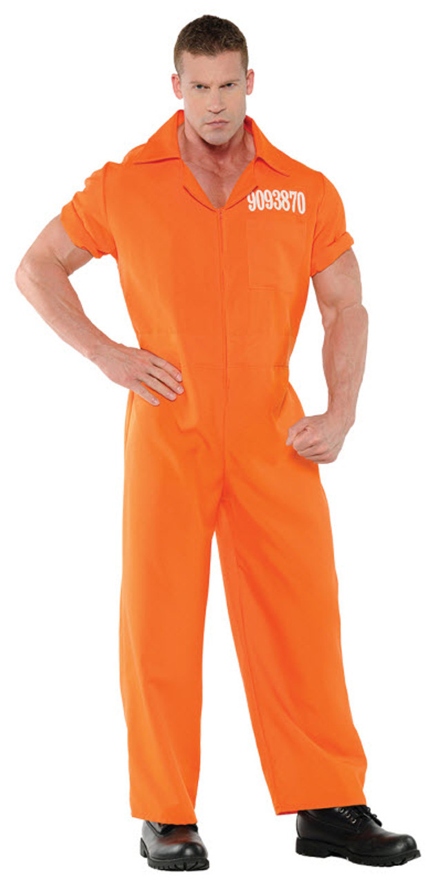 Menu0027s Prisoner Costume UR28057  sc 1 st  Halloween Express & Menu0027s Prisoner Costume UR28057 - Halloween Express