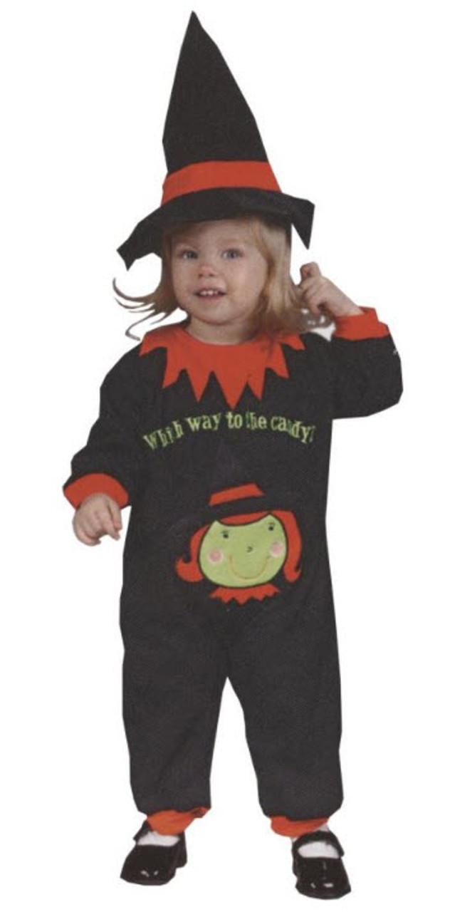 Infant Witch Costume  sc 1 st  Halloween Express & Infant Witch Costume