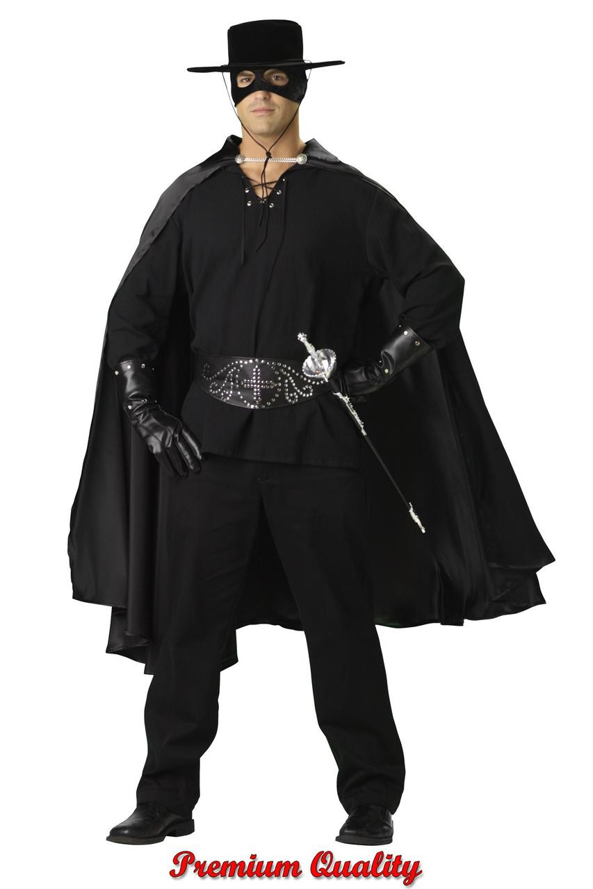 men's bandit costume ic1031 - halloween express