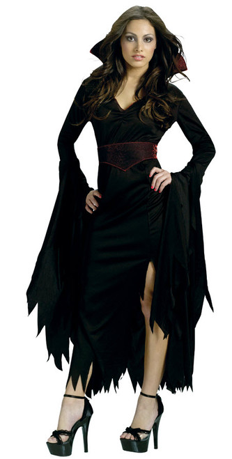 Womenu0027s Gothic V&iress Costume  sc 1 st  Halloween Express & Vampire Halloween Costumes for Adults