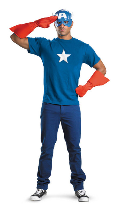 Adult Captain America Costume Kit DG23435  sc 1 st  Halloween Express & The Avengers Movie Costumes and Accessories