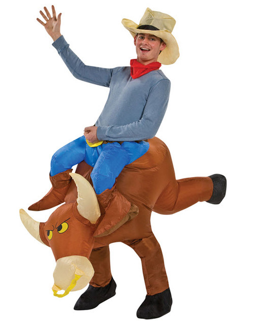 Adult Bull Rider Adult Costume  sc 1 st  Halloween Express & Inflatable Costumes for Adults Children and Teens