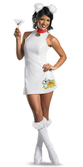 Womenu0027s Family Guy Brian Costume  sc 1 st  Halloween Express & Family Guy Costumes and Masks