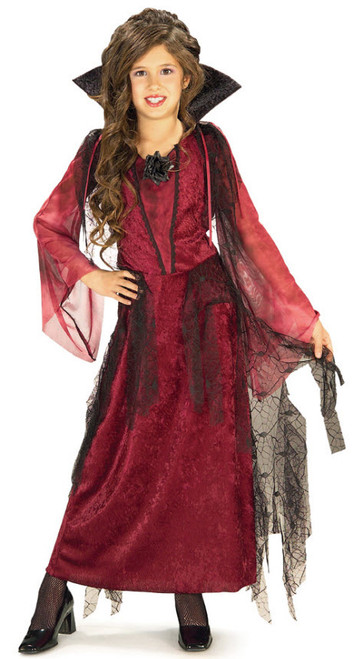 Girlu0027s Gothic V&ire Costume  sc 1 st  Halloween Express & Vampire Costumes for Kids