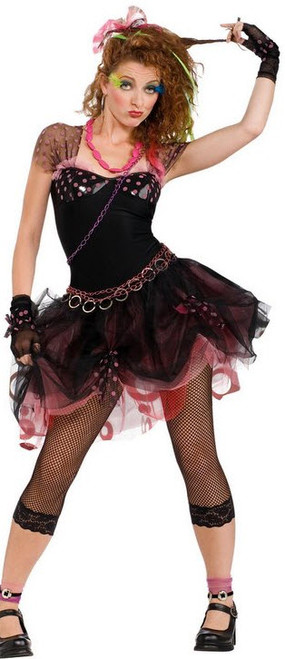 Womenu0027s Punk Rock Costume  sc 1 st  Halloween Express & The 80u0027s Pop u0026 Rock Star Costumes for Women
