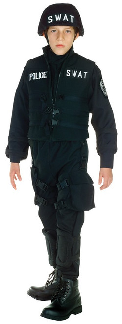 Boyu0027s SWAT Child Costume  sc 1 st  Halloween Express & Career and Occupational Halloween Costumes for Kids