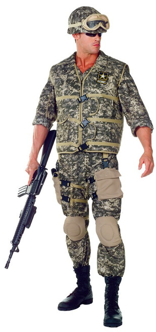 Adult Army Ranger Costume  sc 1 st  Halloween Express & Military and Law Enforcement Halloween Costumes for Kids