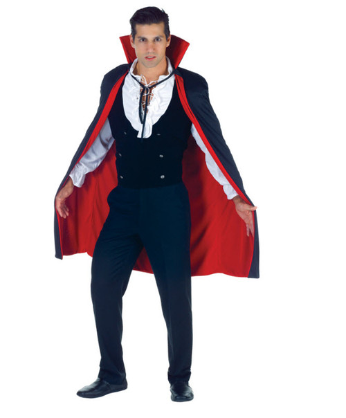 Adult Dracula Cape  sc 1 st  Halloween Express & Huge selection of capes coats and vests for your Halloween costume.