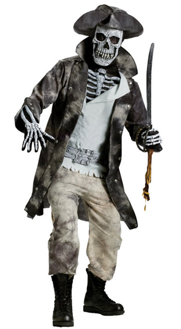 Adult Ghost Pirate Costume  sc 1 st  Halloween Express & Skeleton Halloween Costumes for Adults